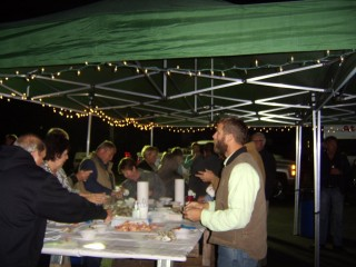 Oyster Roast a GREAT time!